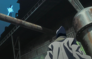Uryu appears before Inaba