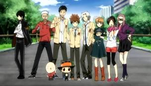 Tsuna And The Gang