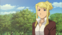 Adult Winry in movie