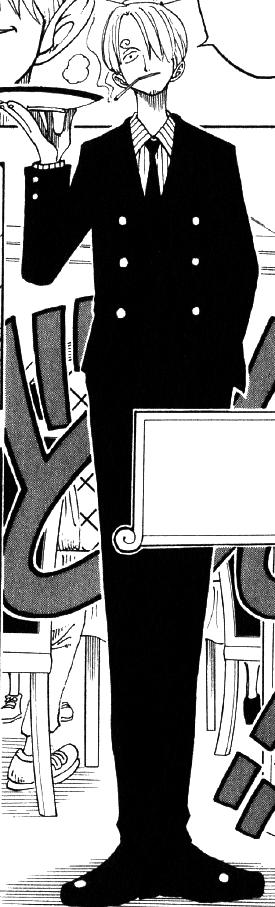 Sanji Manga Pre Timeskip Infobox