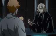 Urahara warns Ichigo of risks