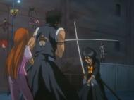 Hisagi Saves Orihime