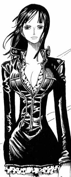Nico Robin Manga Pre Timeskip Infobox