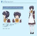 Mia Clementis Anime Design
