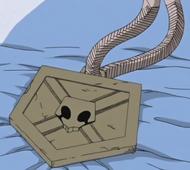 Ichigo's Substitute Shinigami Badge