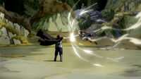Natsu fights Gildarts