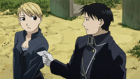 Riza and Roy Grave Visit