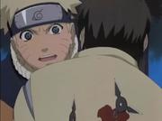 Chishima protect Naruto