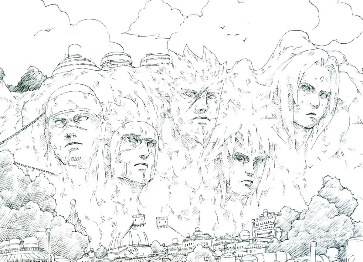 Hokage Monument   Anime And Manga Universe Wiki   FANDOM ...