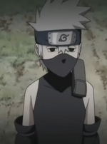 Kakashi as a kid