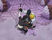 Sai intercepts Sasuke