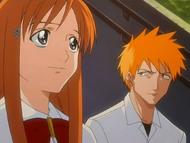 Orihime & Ichigo talk