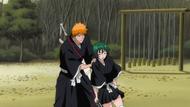 Ichigo catches Nozomi