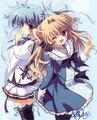 Airi And Sakuno Switch Their Uniforms.jpg