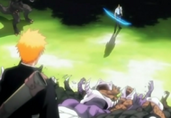 Ichigo asks Uryu to work together
