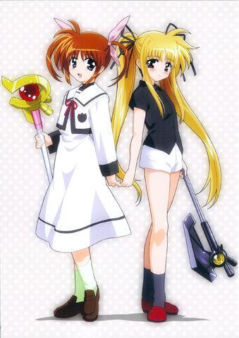 File:Nanoha and Fate.jpg