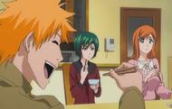 E330 Kon eats with Nozomi, Orihime
