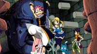 Team Natsu in trap