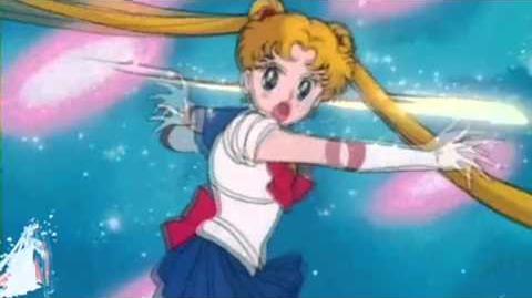 HD Sailor Moon~Attacke 1~Mondstein fliegt und siegt Deutsch-German