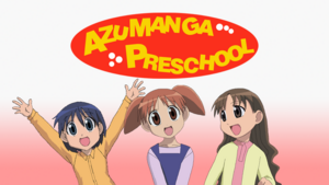 Azumanga Preschool 2nd Poster Art