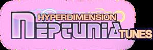 Hyperdimension Neptunia Tunes Logo