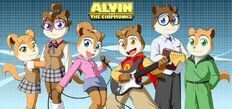 The chipmunks and chipettes 2 by pak009-d4c1ypj