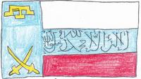 Flag of Harof Sayyaf-Jonumminha