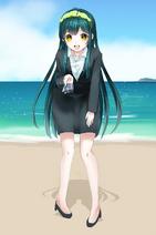 Zunko-Touhoku-suit-beach