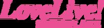Love Live Snowflake English Logo