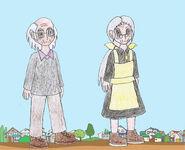 Human lbt littlefoot s grandma and grandpa by animedalek1-d798hvs