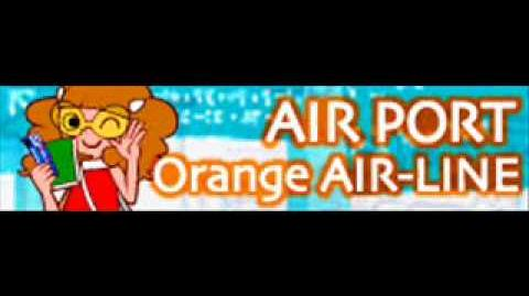 AIR PORT 「Orange AIR-LINE」