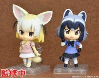 Nendoroid Fennec & Araiguma painted