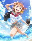 Chika Takami Blu-ray Jacket 1-7 with fans illus