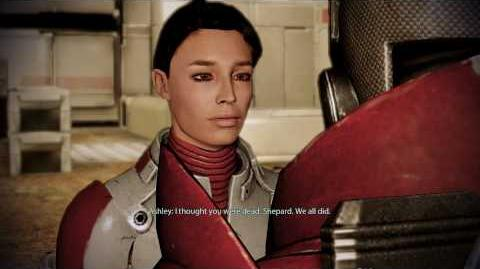 Mass Effect 2 - Ashley Williams Reunion