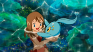 Princess May with Manaphy