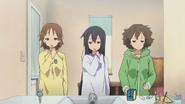 K-On Ui, Azusa and Jun tired