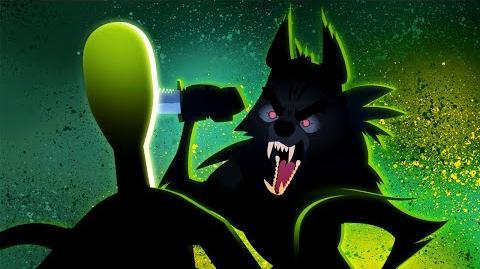 Slender Man vs. Insanity Wolf - ANIMEME RAP BATTLES