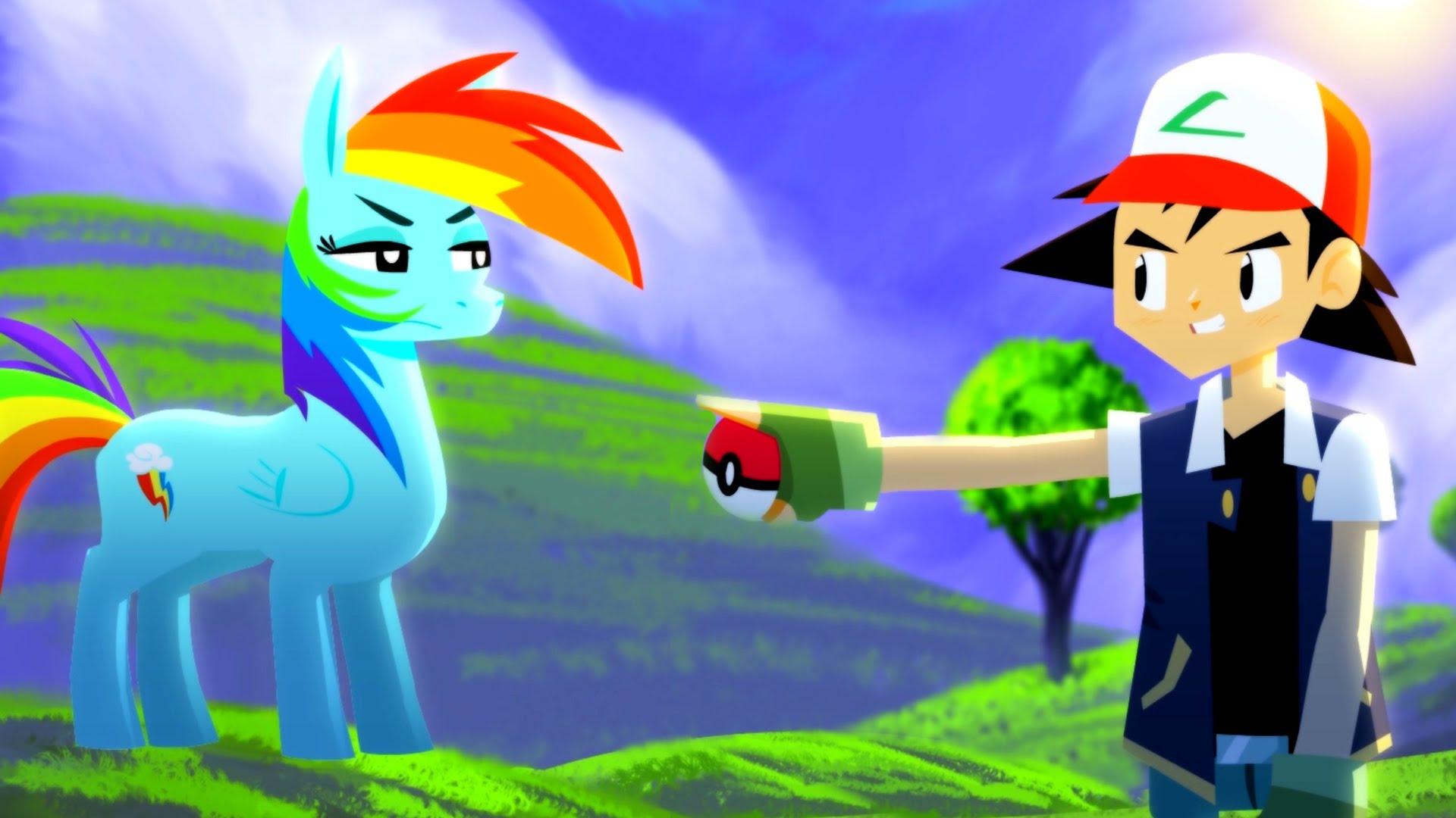 Pokémon vs. My Little Pony - ANIMEME RAP BATTLES | Animeme ...