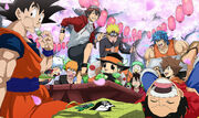Shonen jump hanami by ladygt-d64r1ty