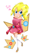 Princess peach daytime dress by chissyrulez94-d5s11lk