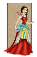 Pocahontas new dress by sonala-d4qeb82