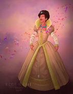 Wedding dress pocahontas by zhevickmeister-d7w5wdo