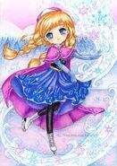 Frozen anna by silverchaim-d6vcmmz