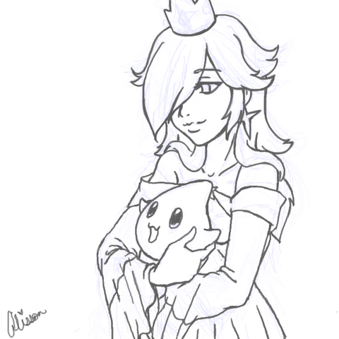 File:Princess Rosalina WIP by AliPwnzJoo.png