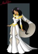 Princess jasmine wedding dress by nightwing1975-d5fkkuq