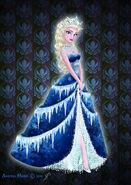 Royal jewels dress edition elsa by missmikopete-d72h2vg