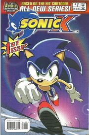 Sonic X issue 1