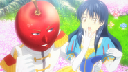 Apple Prince and Snow White Megumi Food Wars Ep 16