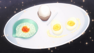 Three Forms of Egg Dishes (Food Wars Ep 13)