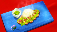 Aigamo Grilled with Spices (Food Wars Ep 8)
